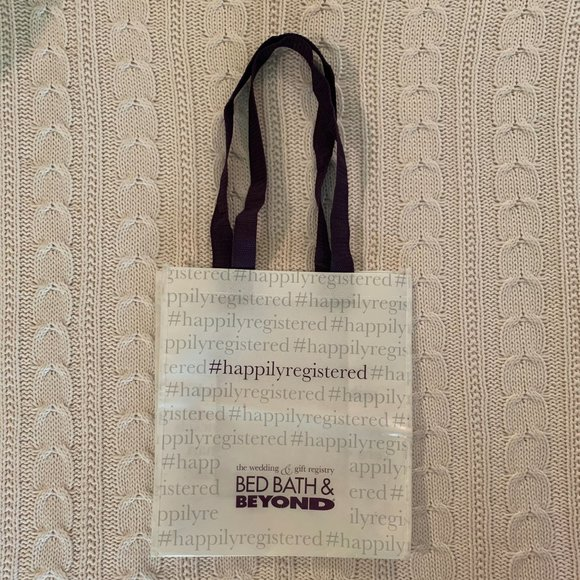 Bed Bath Beyond Bags Bbb Happily Registered Shopping Tote Poshmark The site owner hides the web page description. poshmark